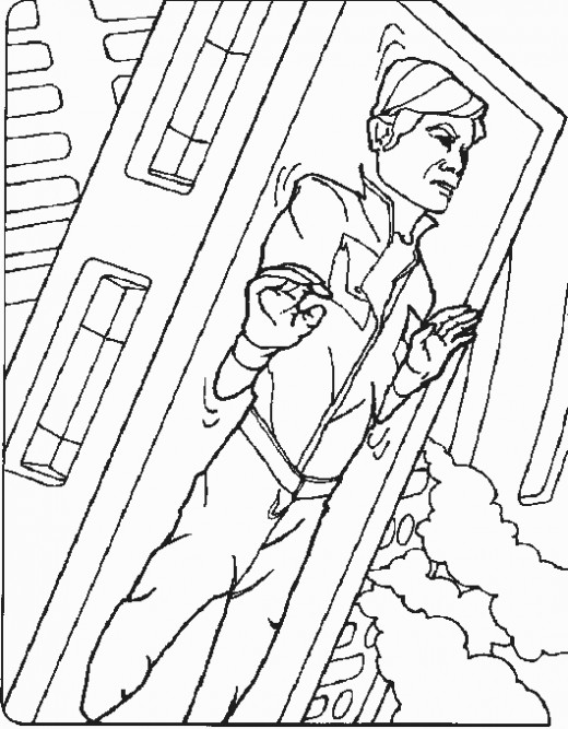 han solo coloring pages - photo#13