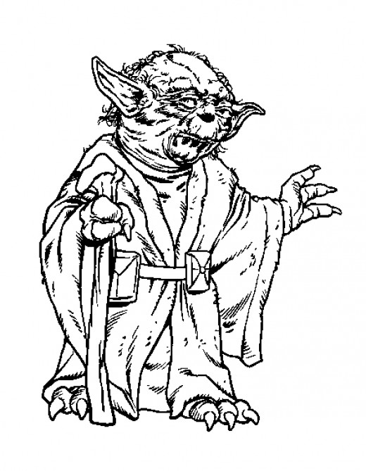 star wars ewok coloring pages - photo#24