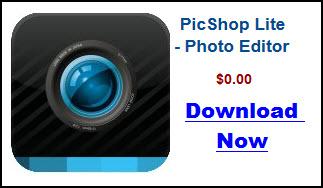 PicShop Lite App For Kindle Fire HD