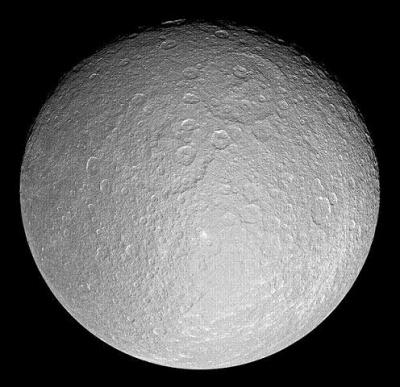 Rhea Credit:NASA