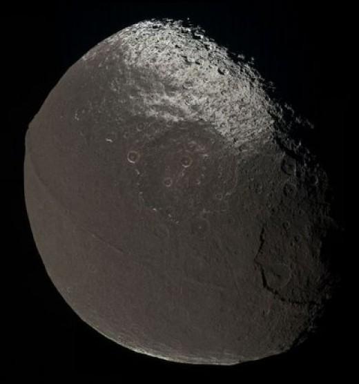 Iapetus Credit:NASA