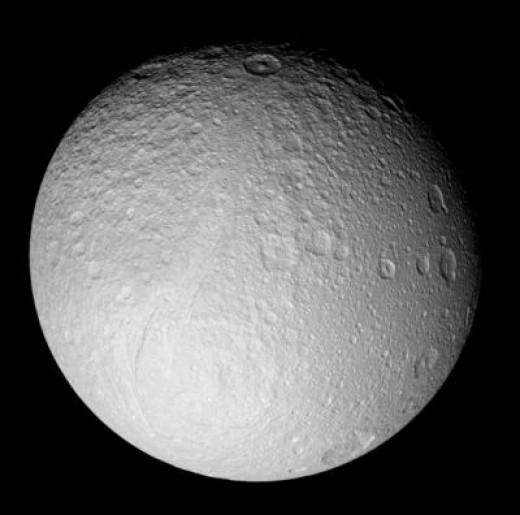 Tethys Credit:NASA