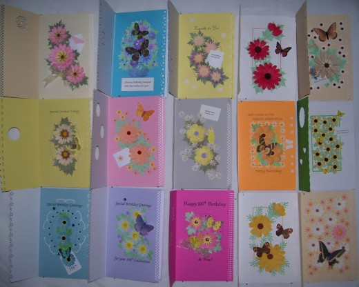 Did you say there were lots of different flowers?  You're right!  And YOU can make your own personalized creation!