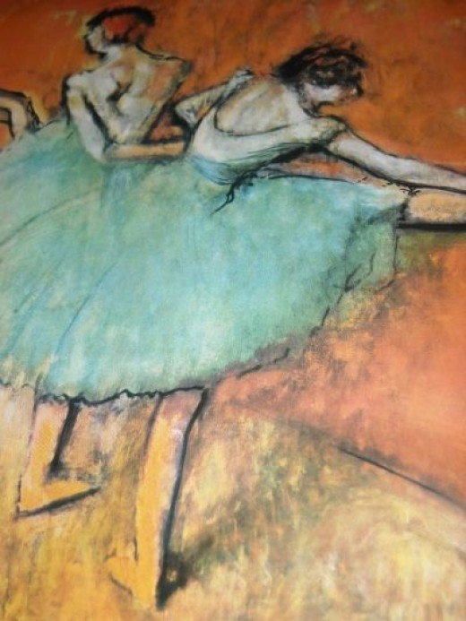 Degas - Dancers at the bar