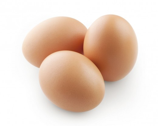 After 10 minutes, turn the burner off the eggs. Drain the pot of eggs, and add cold water to allow the eggs to cool before peeling and slicing them.