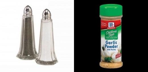 Add salt, pepper, and garlic powder to taste.