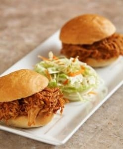 Pulled BBQ Chicken Sandwiches!