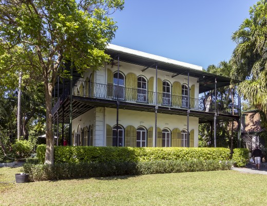 Home of Ernest Hemingway in Key West, Florida