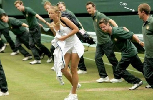 sharapova funny jokes photos tenis