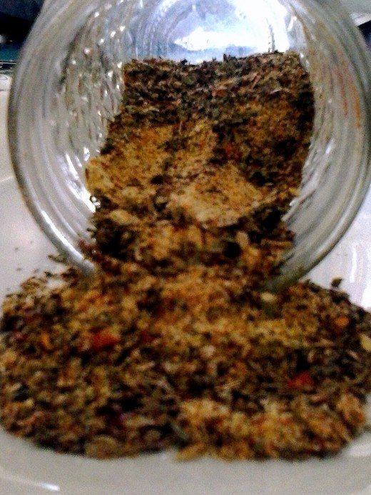 Image was taken by me. My home made taco seasoning!