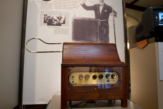 An antique theremin