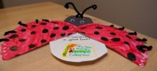 The Grouchy Ladybug Sharing Plate