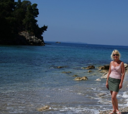 Nicole-on-Parga-Beach-by-Clive-Anderson