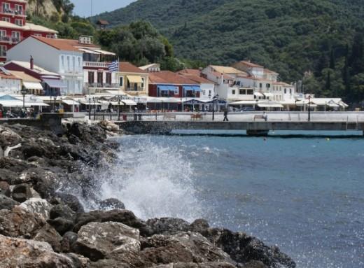 Parga-Greece-Harbor-Waves-by-Clive-Anderson