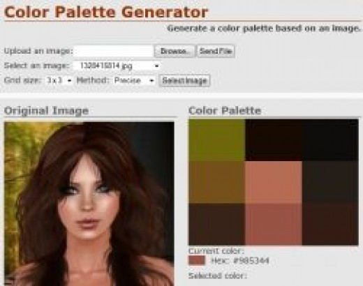 Click to Go To Color Palette Generator