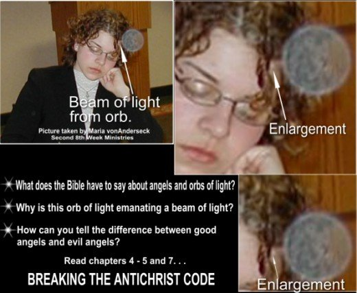 Understand good and evil orbs - read chapter 7 & 10 Breaking the Antichrist Code