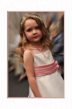 Abby at age 3, her first appearance in the One Hope United fashion show.
