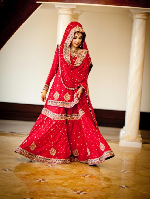 Traditional Maharani Draping Style