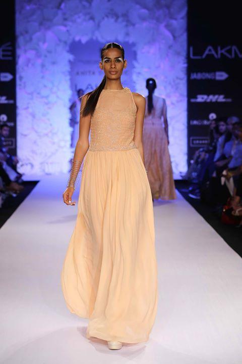 Anita Dongre Collection at the Lakme Fashion Week 2014