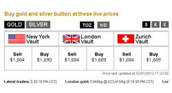Buy Gold And Silver at Lowest Prices