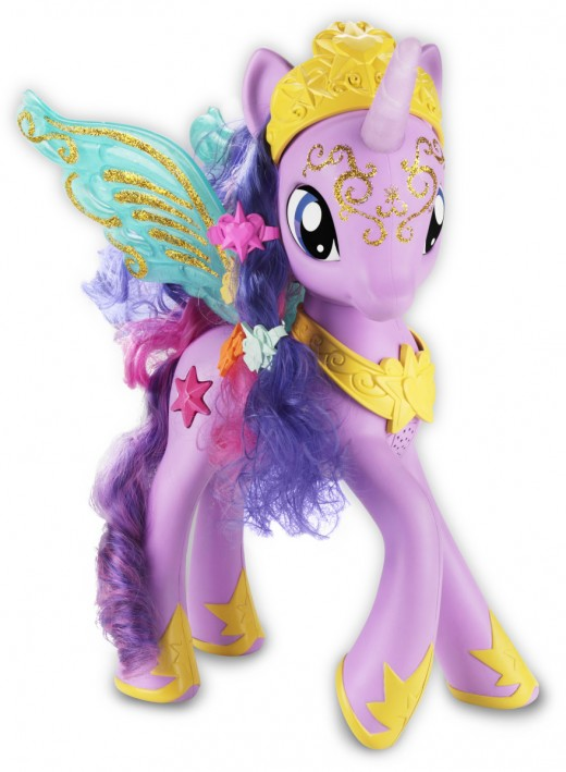 Here is a closer look at this beautiful pony-Princess!