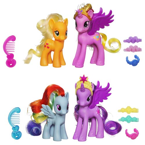 These are My Little Pony Princess 2-packs. It's always more fun with more ponies!
