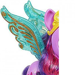 A close-up view of Princess Twilight Sparkle's wings.