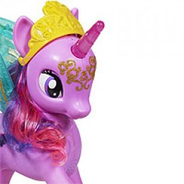 Princess Twilight Sparkle in a rare close-up view.