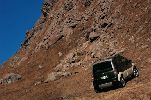 There's nowhere that the new 2001 Jeep Phoenix micro 4x4 can't take you!