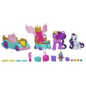 My Little Pony Celebration Car Set comes with all these items!