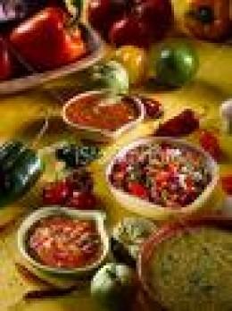 Salsa Roja and Salsa Verde