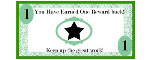 Pics photos free printable reward bucks for kids money theme