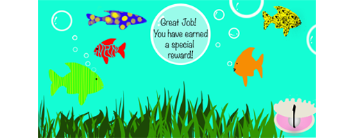 Free printable rewards for kids fish and ocean theme