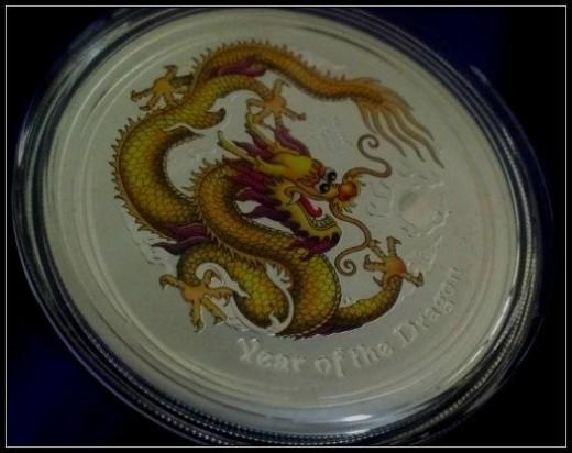 ANDA Melbourne Coin Show Special Silver Dragon