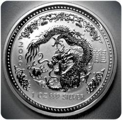 2000 Australian Silver Dragon