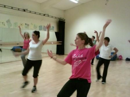 Thursday Zumba class in Hailsham.
