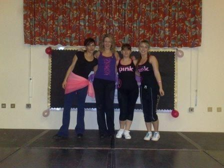 Charity Zumbathon Event.
