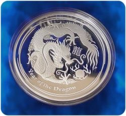 2012 Australian Lunar Dragon Proof