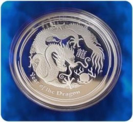 2012 Australian Lunar Dragon Proof