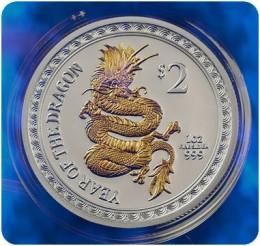2012 New Zealand Silver Dragon