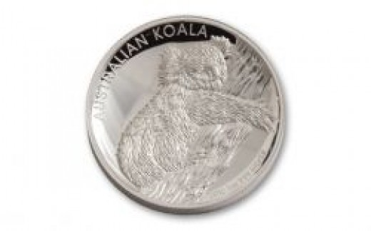 2012 Australia Perth Mint High Relief Silver Koala