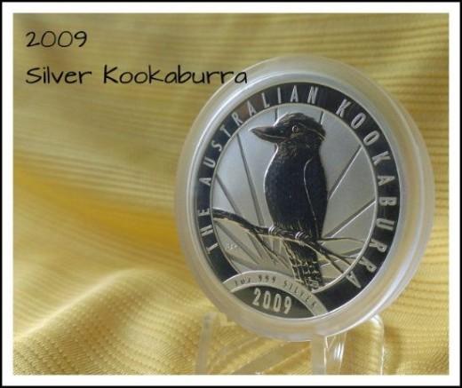2009 Australian Silver Kookaburra Coin