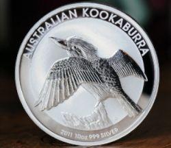 2001 Australian Kookaburra Silver Coin
