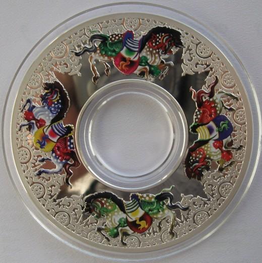 Carousel of Horse Silver 2 Ounce Coin