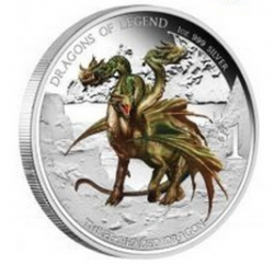 2012 Bulgarian Three-Headed Dragon Proof
