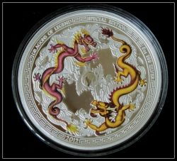 Australia Perth Mint Dragons Of Legend 5oz Chinese Dragon Coin
