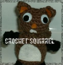 Free Crocheting Pattern for an Amigurumi Squirrel