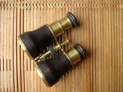 An old pair of Cox-Devonport binoculars c.1850