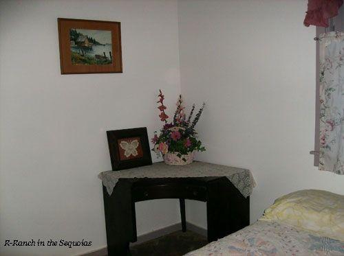 Nice corner table in the Bedroom #1