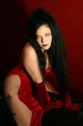 Goth glam model, singer and witch Dementia Armand in an exclusive interview